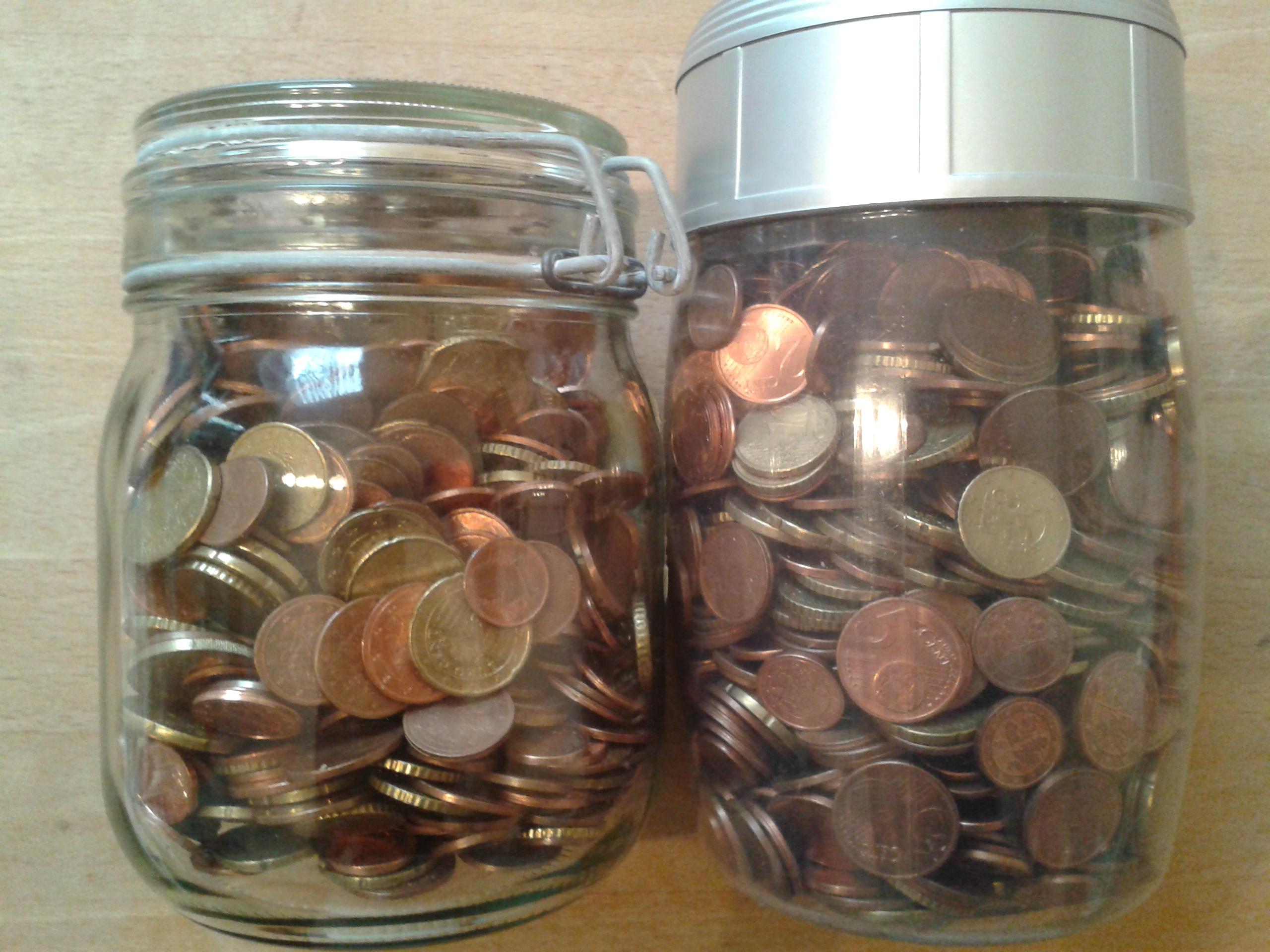 Spardosen Kleingeld